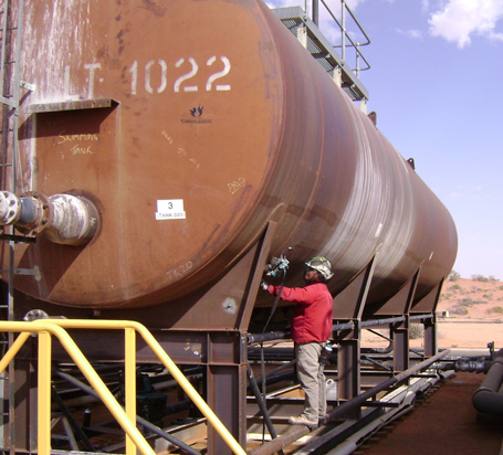 pipe pressure vessel inspection